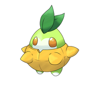 Chipple, the pineapple pokemon