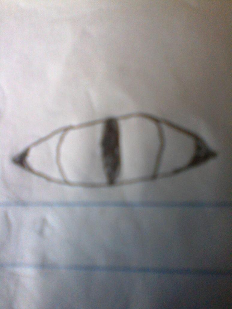 the eye the guy drew by Pokegirl3110