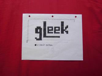 'Gleek' Kniting template. by Umi88