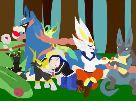 Pokemon swsh team