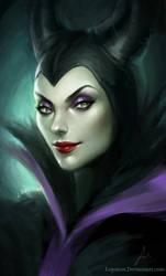 Maleficent by Loputon