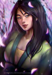Mulan by Natali-O