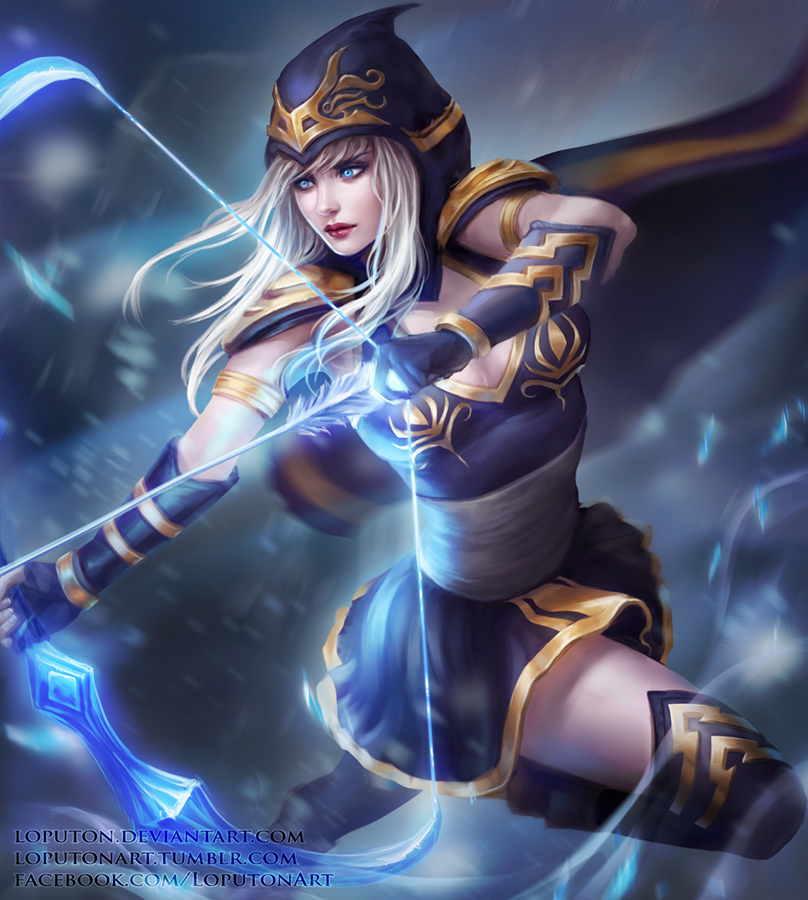 Ashe by Loputon on DeviantArt