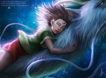 Spirited Away by Natali-O