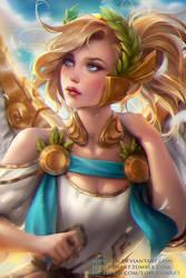 Guardian angel Mercy by Loputon