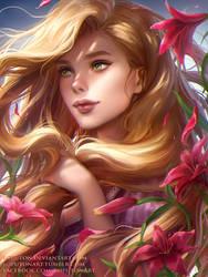 Rapunzel by Loputon