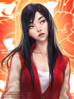 Casual Mulan by Loputon