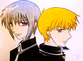 Yuki and Kyo by mandax087