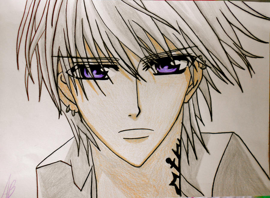 How to draw zero kiryu from vampire knight step 7 apps directories