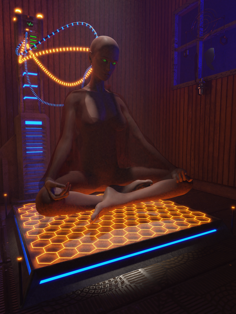 Cyberpunk WIP12 by MikeDBoing