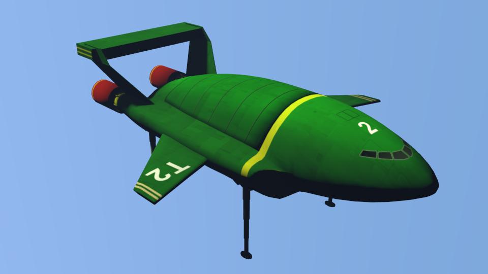 Thunderbird 2 wip001 by MikeDBoing