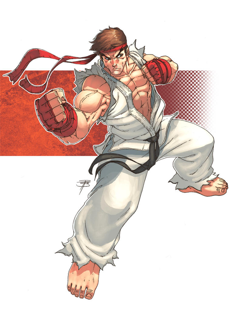 Ryu by atombasher