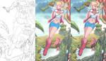 supergirl step by step
