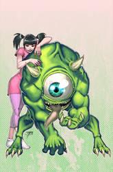 Boo e Mike por atombasher
