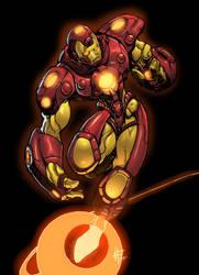 Homem de Ferro por atombasher