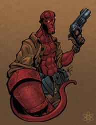 outro Hellboy por atombasher