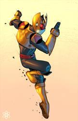 Golden Z de Ragelion por atombasher