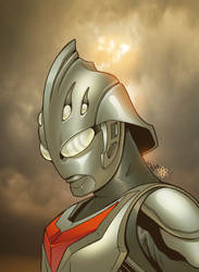 Ultraman Nexus por atombasher