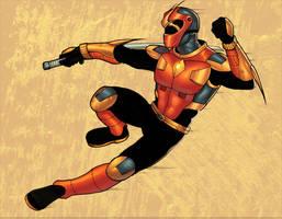 Sentai Hero, by ragelion by atombasher