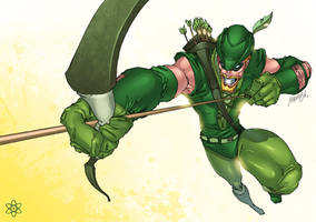 Green Arrow by atombasher
