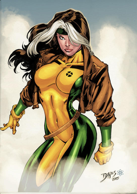 Rogue By Ed Benes by atombasher