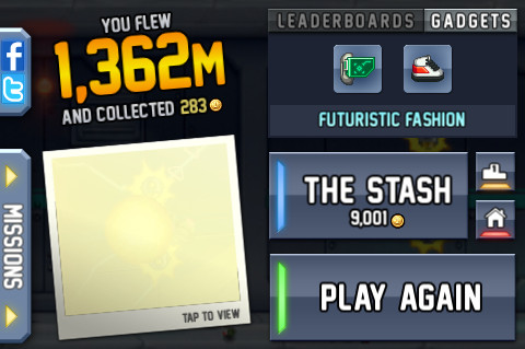 Jetpack Joyride: OVER 9000 COINS!!! by CarlostheBat36