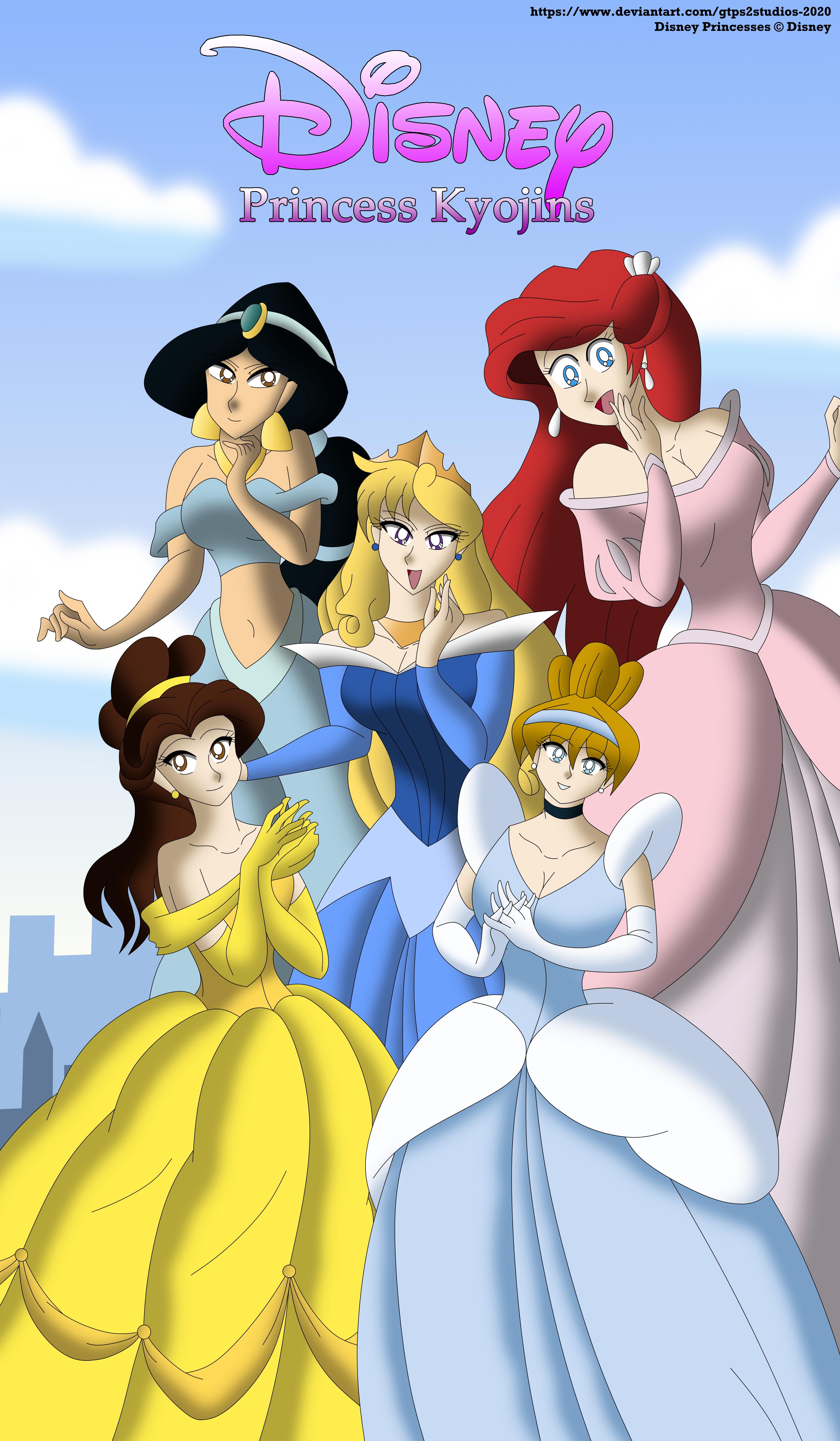 Disney Princess Kyojins Poster By Gtps2studios 2020 On Deviantart