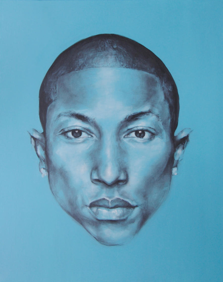 Pharrell Williams by JackLabArt