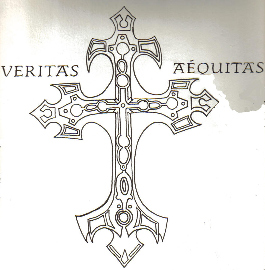 Veritas aequitas by davincireincarnated on deviantart for Veritas aequitas tattoos