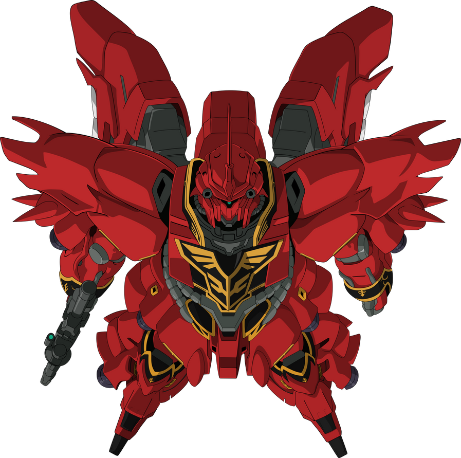 MSN-06S Sinanju by DisAstranagant