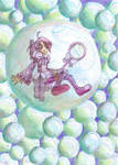 Caught in a bubble
