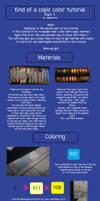 Copic color tutorial part 1