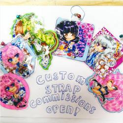 Custom strap commissions open!