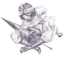 Animecon commission: Mystras and Ja'far