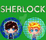 Sherlock buttons