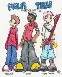 Human Aqua Teens by Cassquet by athf-club