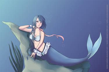Aqua Mermaid by lorelei-melodei