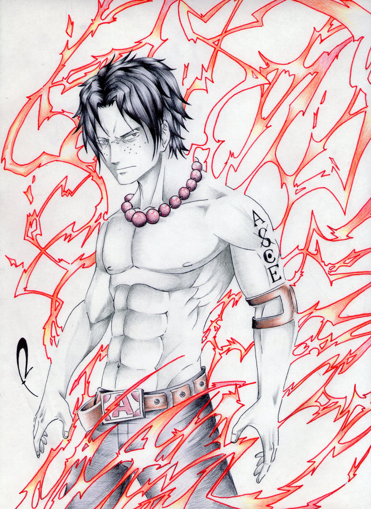 Portgas D. Ace by alduin46