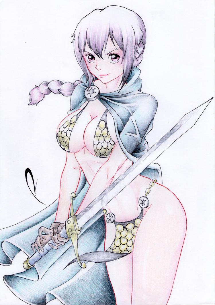 Rebecca original art by alduin46