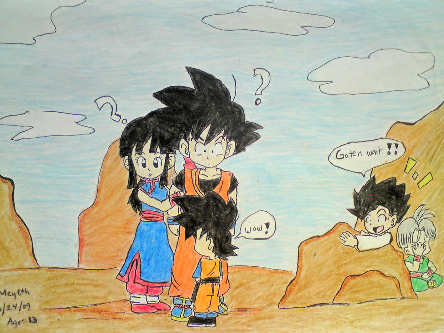Goten Meets Teen GXCC by goku-chichi-goten