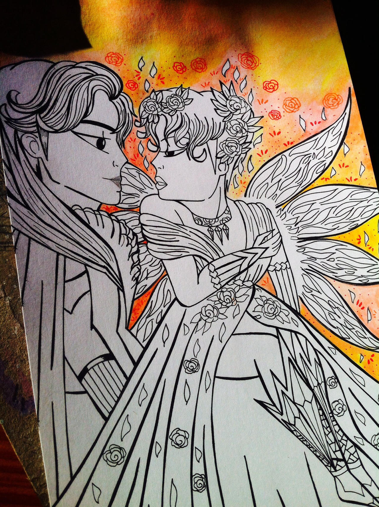 WIP Inside a fantasy- JiKook by LHLadyHalloween on DeviantArt
