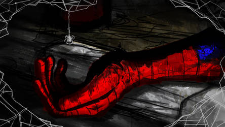 The Death of Spiderman by areKu54