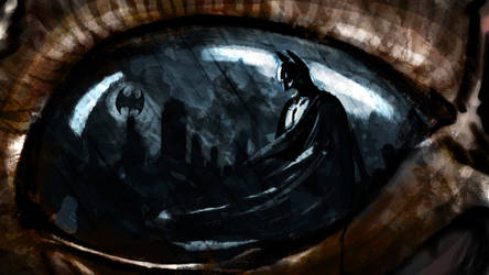 In the eye of the bat by areKu54