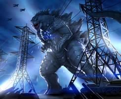 Godzilla anniversary commission