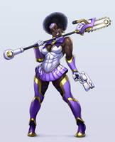 OC comm: Aziza Izati, Heavenly Chainsaw Maiden