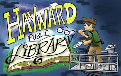 Hayward Public Library Card Design (1/2)