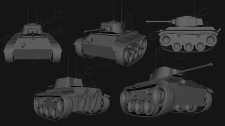 Tank Model Progress (1)