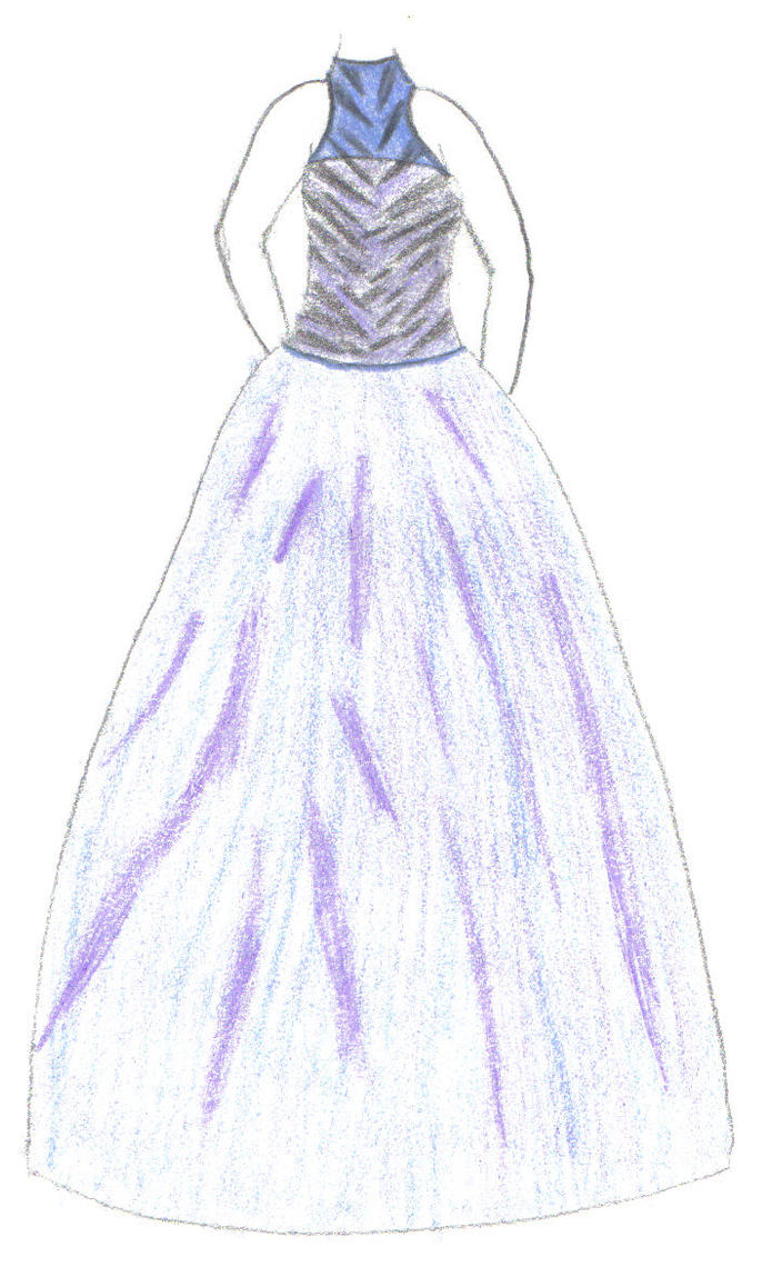 Drawings Of Prom Dresses 63