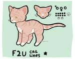 f2u cat base (png, sai, psd)