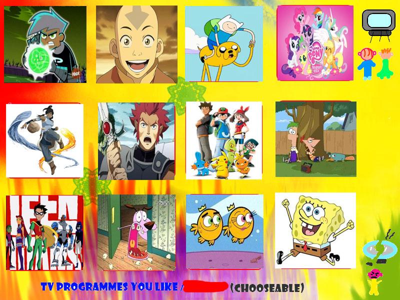 mah fav cartoons meme by maltese101